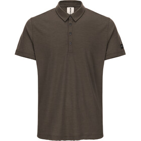 super.natural Parzi Polo Shirt Herren killer khaki melange